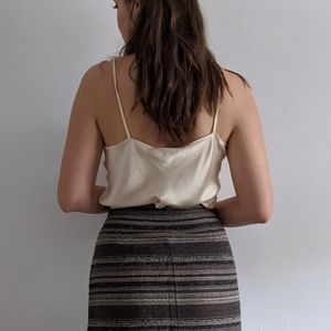 Vintage Skirts - 1990's Southwestern-Style Wool Wrap Skirt